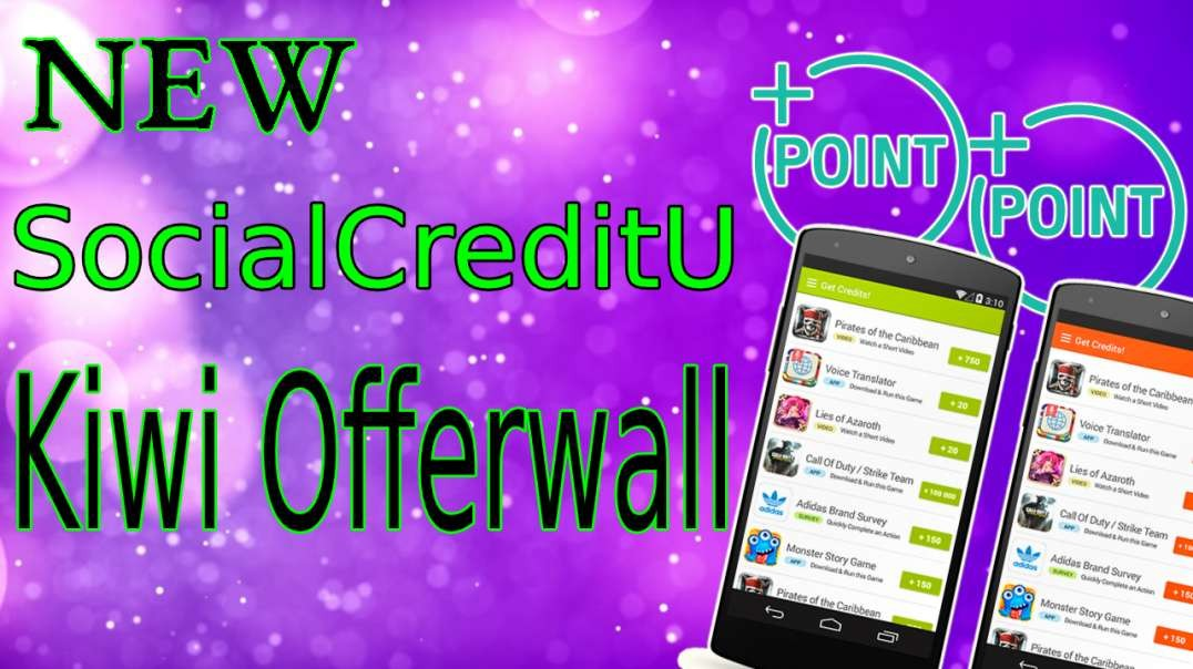 SocialCreditU Kiwi Offer Wall